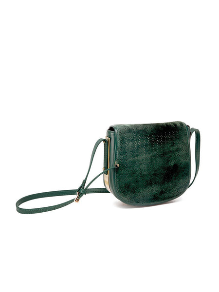Mata Hari Ali Saddlebag Hunter Green