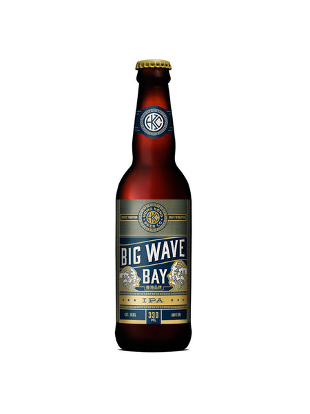 HONG KONG BEER, BIG WAVE BAY (330MLx12)