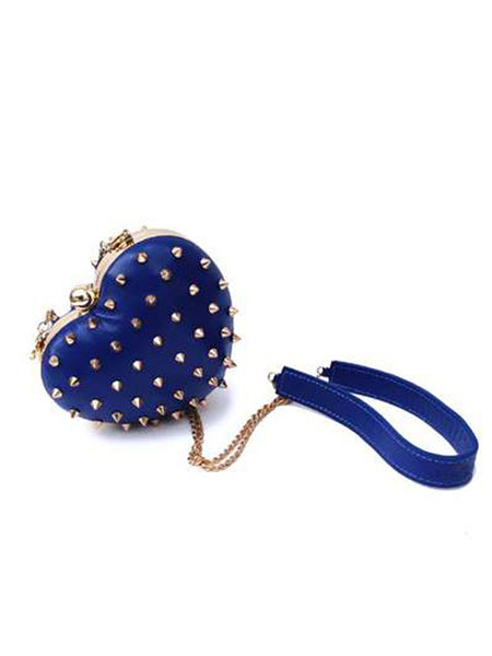 Mata Hari Me Heart Purse / Clutch Ink