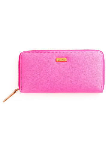 Ban.do Big Spender Wallet - Neon Pink + Metallic Rose Gold