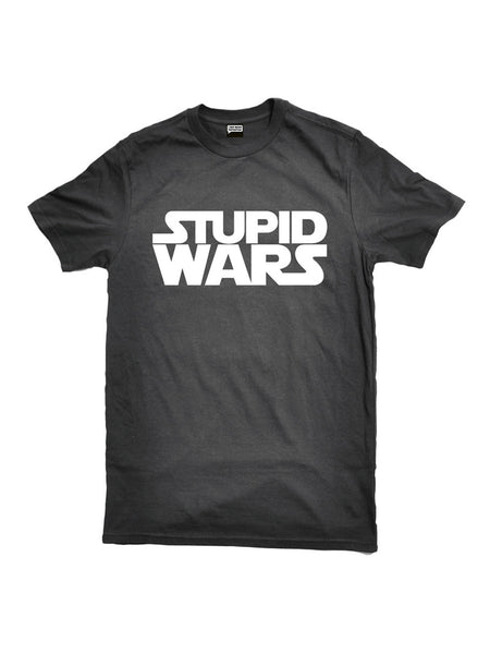 'STUPID WARS', BLK/WHT