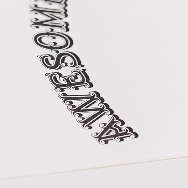 Tattly 'Awesome' Greeting Card