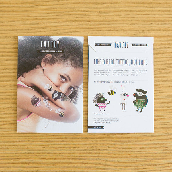 Tattly Zoo Crew Set