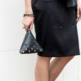 Mata Hari Dita Tribag Clutch Black