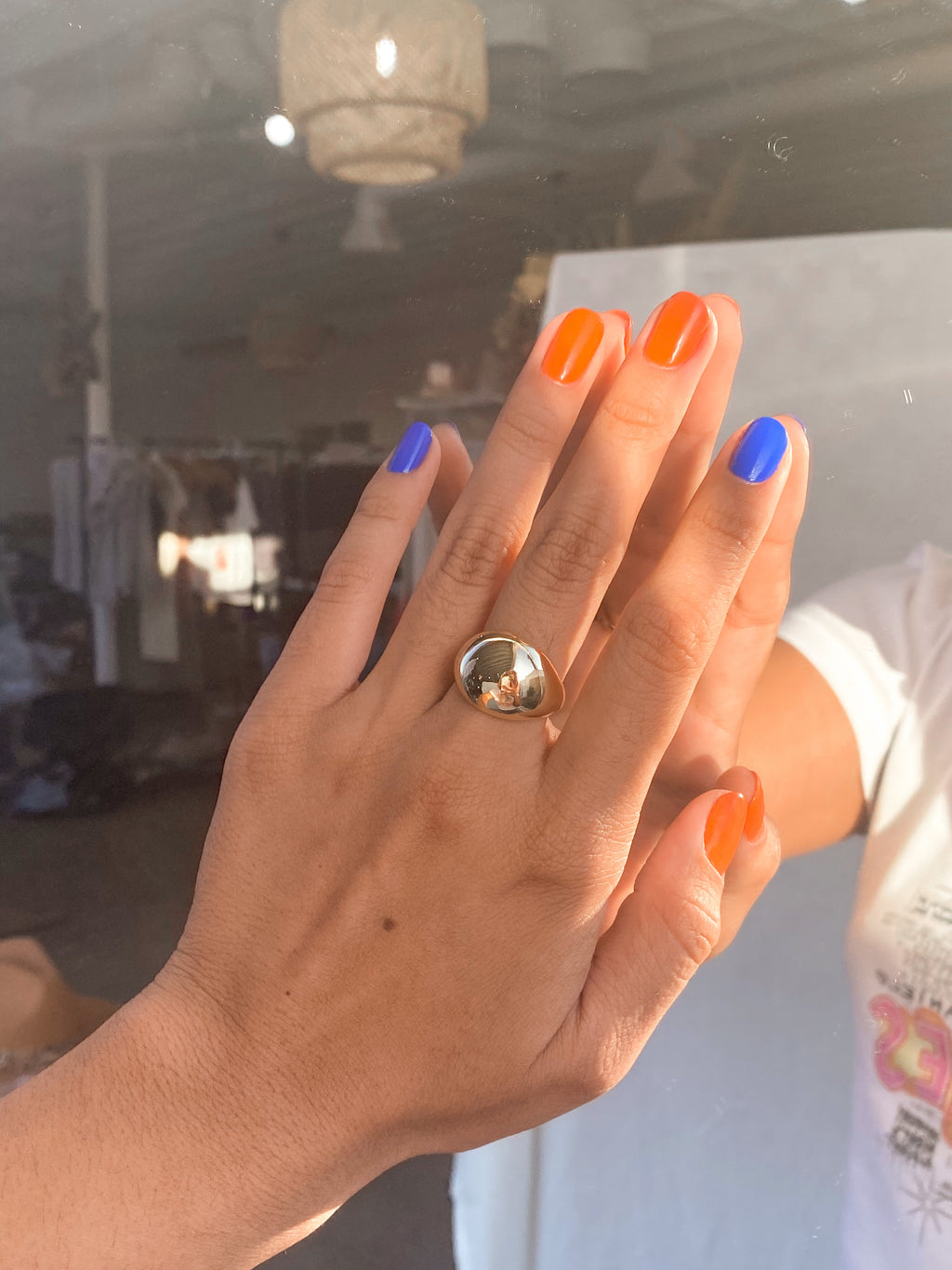 She's Chic Dome Ring