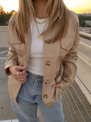 IN THE CITY SHACKET // BEIGE