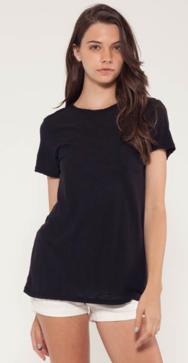 Malibu Crew Neck Tee | Michelle by Commune | Daisy Dukes