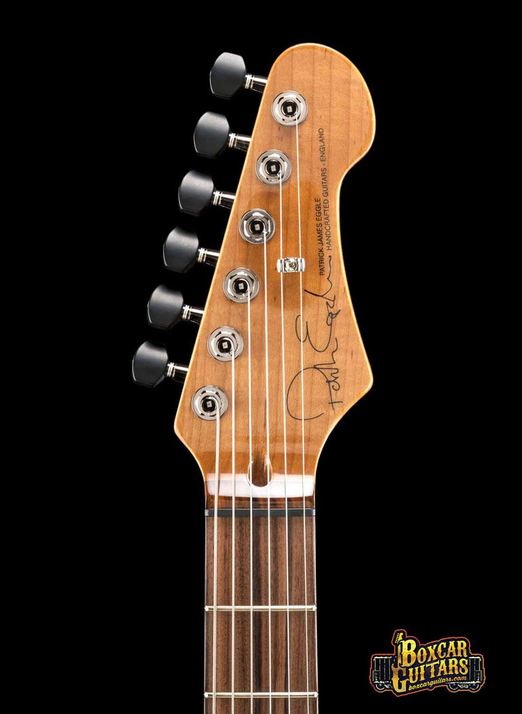 Patrick James Eggle '96 Carved Top Foundation Redwood 5 Boxcar Guitars
