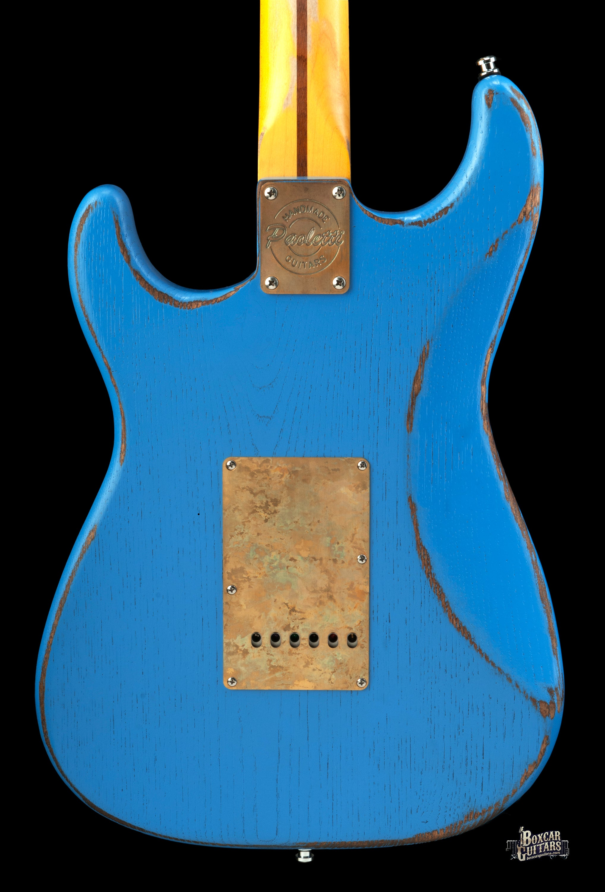 Paoletti Loft Series Stratospheric HSS Strat Relic Blue