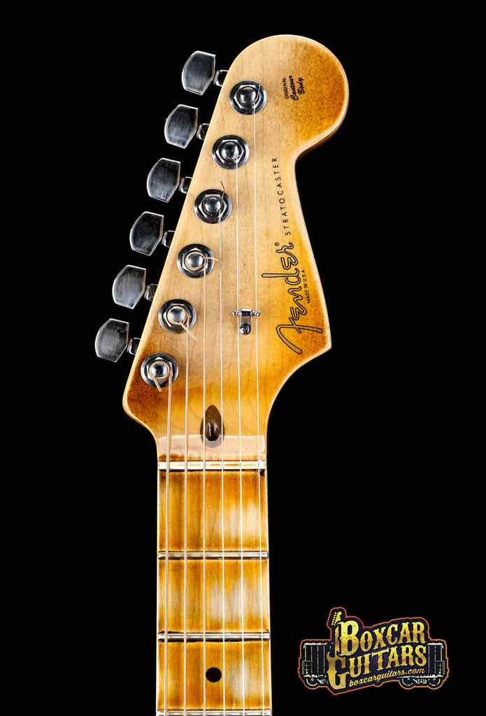 Fender American Stratocaster Aged Sienna Burst 7 Boxcar Guitars