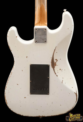Friedman Guitars HSS Aged White Pre-Grover 1 Boxcar Guitars