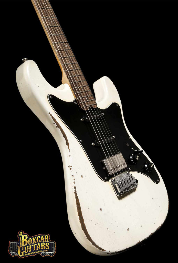 Friedman Guitars HSS Aged White Pre-Grover 3 Boxcar Guitars