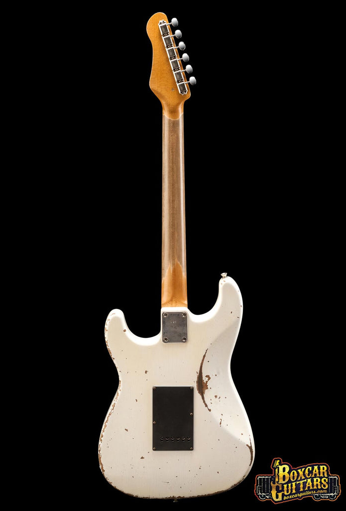 Friedman Guitars HSS Aged White Pre-Grover 5 Boxcar Guitars