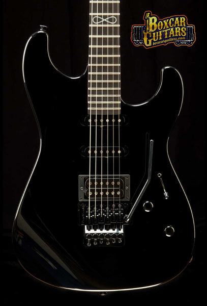 GJ2 Glendora Select HSS Jet Black Limited Run 1 Boxcar Guitars