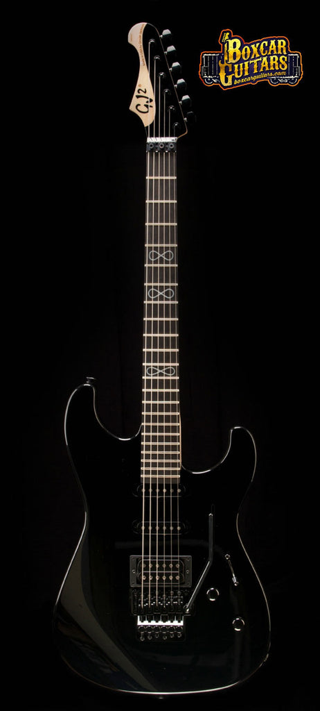 GJ2 Glendora Select HSS Jet Black Limited Run 3 Boxcar Guitars