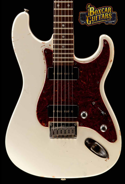 GJ2 Glendora Soapbars Antique White 1 Boxcar Guitars