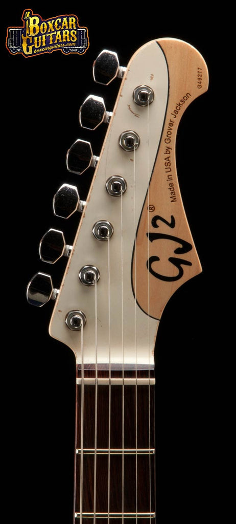 GJ2 Glendora Soapbars Antique White 6 Boxcar Guitars