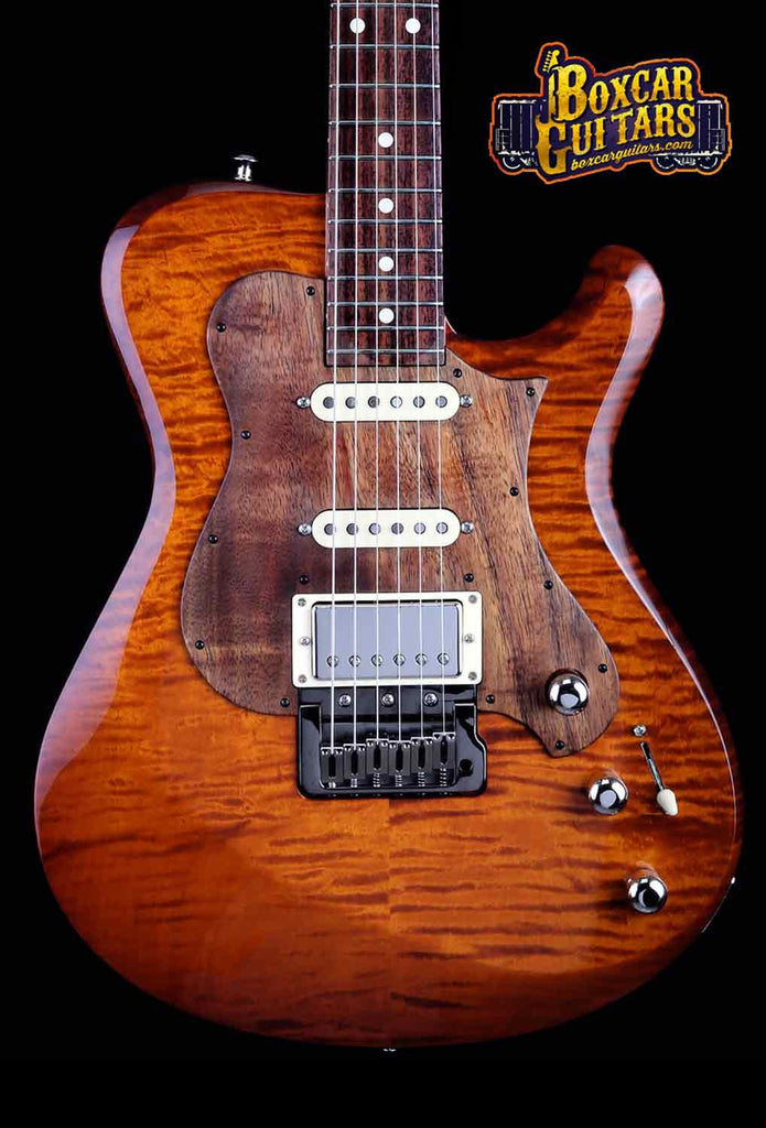 Knaggs Choptank T3 Aged Scotch/Koa Pickguard 1 Boxcar Guitars