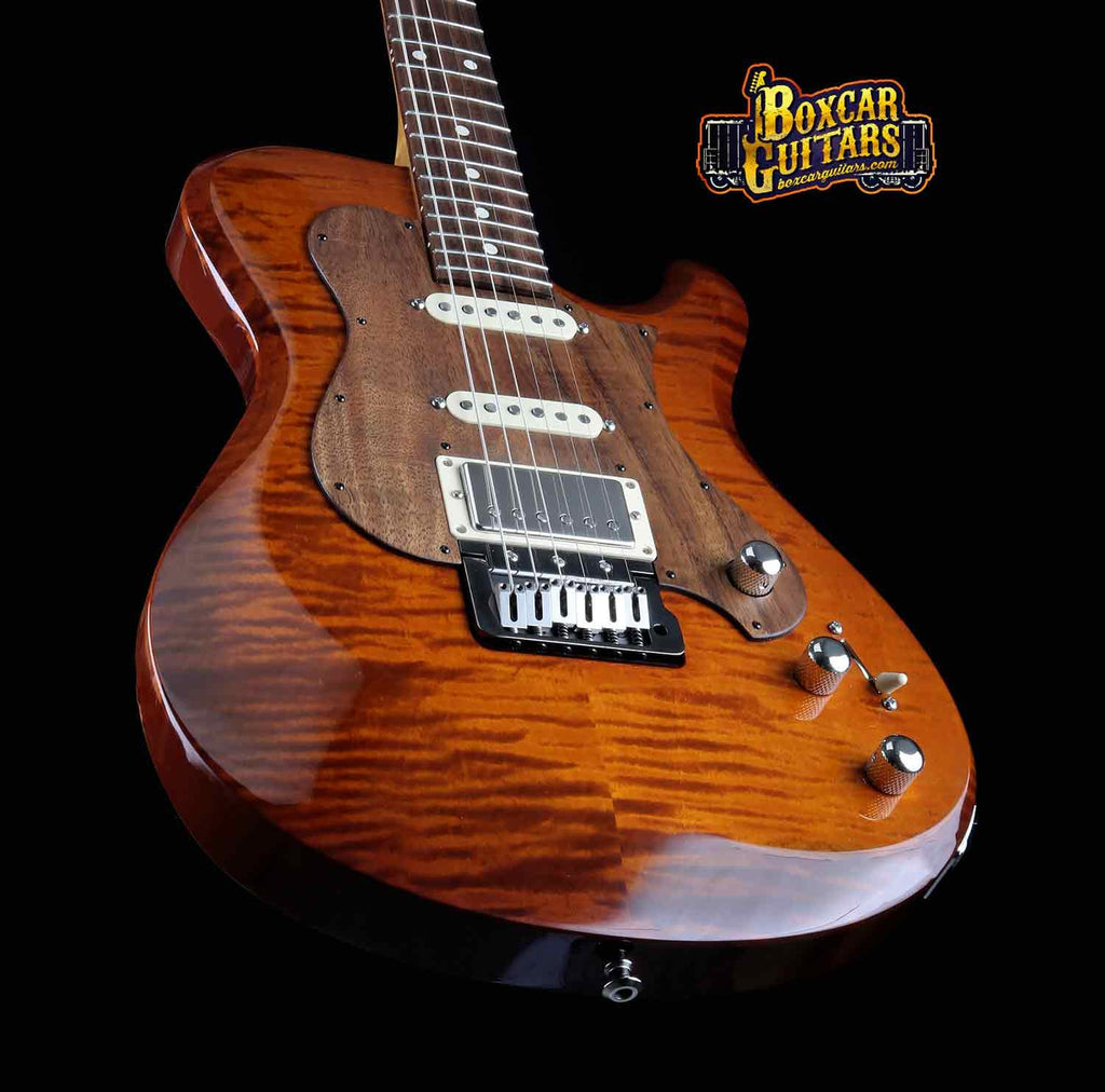 Knaggs Choptank T3 Aged Scotch/Koa Pickguard 2 Boxcar Guitars