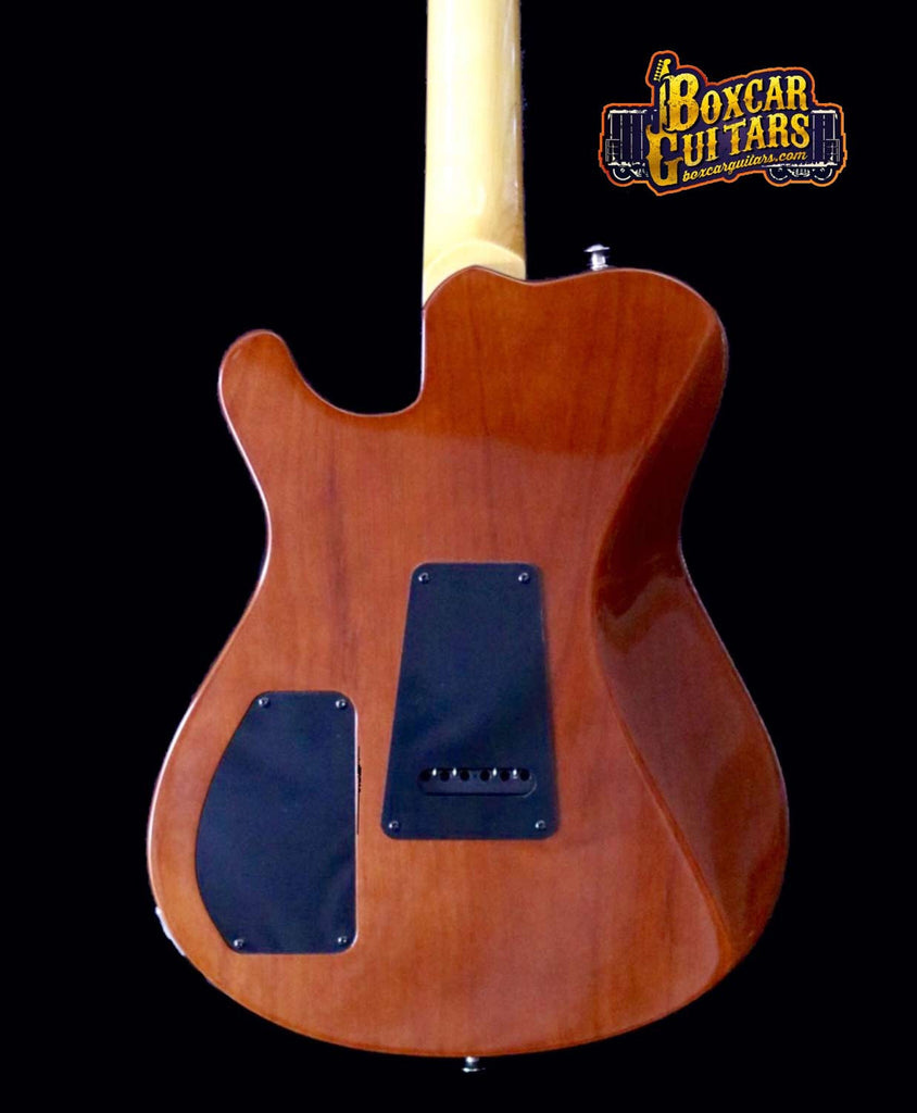 Knaggs Choptank T3 Aged Scotch/Koa Pickguard 3 Boxcar Guitars