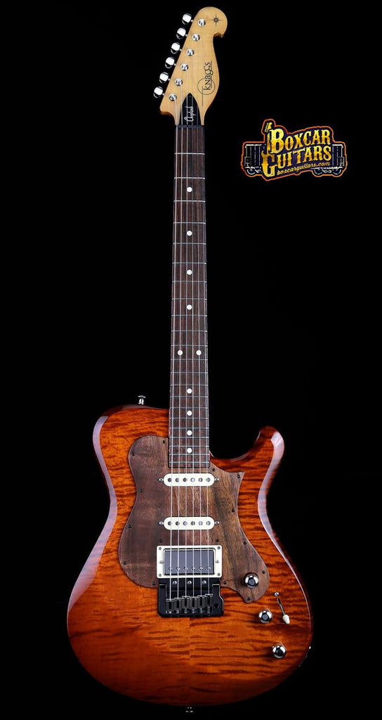 Knaggs Choptank T3 Aged Scotch/Koa Pickguard 4 Boxcar Guitars