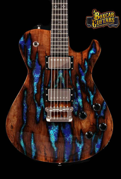 Knaggs Kenai T2 Spalted Maple/Lapis Stone 1 Boxcar Guitars