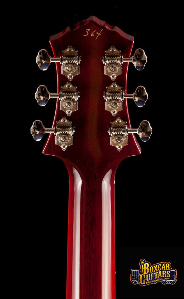 Knaggs Kenai T3 Faded Burgundy Double Purf 6 Boxcar Guitars