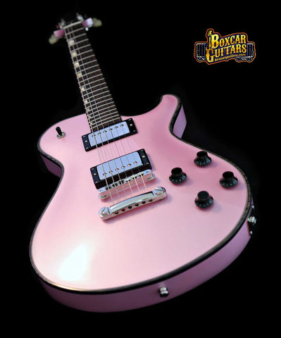 Knaggs SSC Pink Ice Metallic 1 Boxcar Guitars