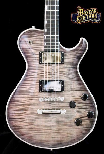 Knaggs SSC T1 Trans White/Galaxy Back 1 Boxcar Guitars