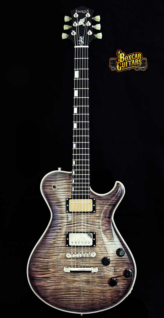Knaggs SSC T1 Trans White/Galaxy Back 3 Boxcar Guitars