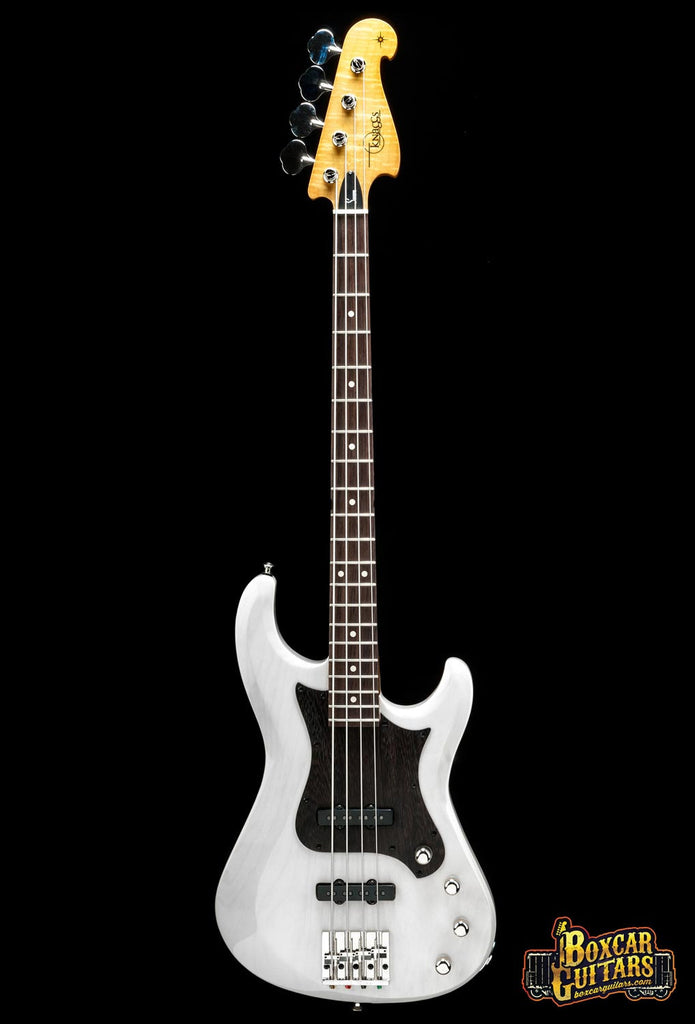 Knaggs Severn 4 J-Bass Tier 3 Aged Ivory 3 Boxcar Guitars