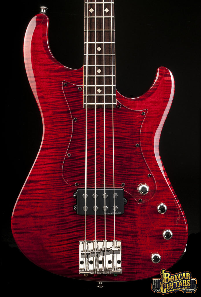 Knaggs Severn H Bass 4 Tier 2 Curly Maple & Indian Red