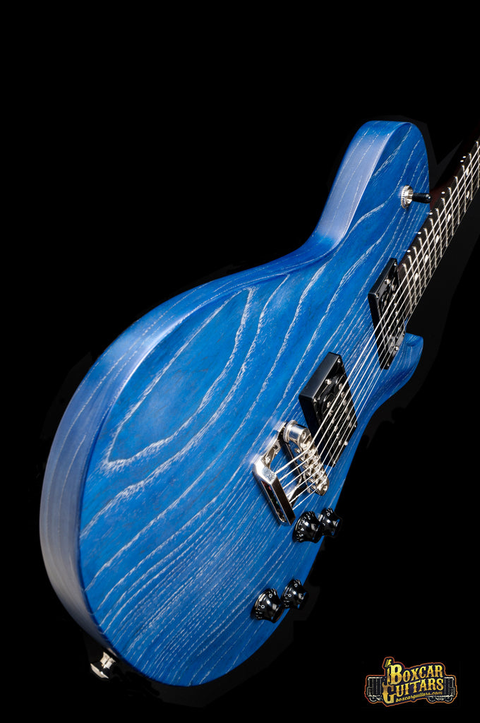 Knaggs Kenai Satin Blue Drift Swamp Ash