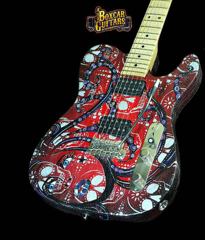 Luxxtone Choppa T with Trisha Lurie Art 1 Boxcar Guitars
