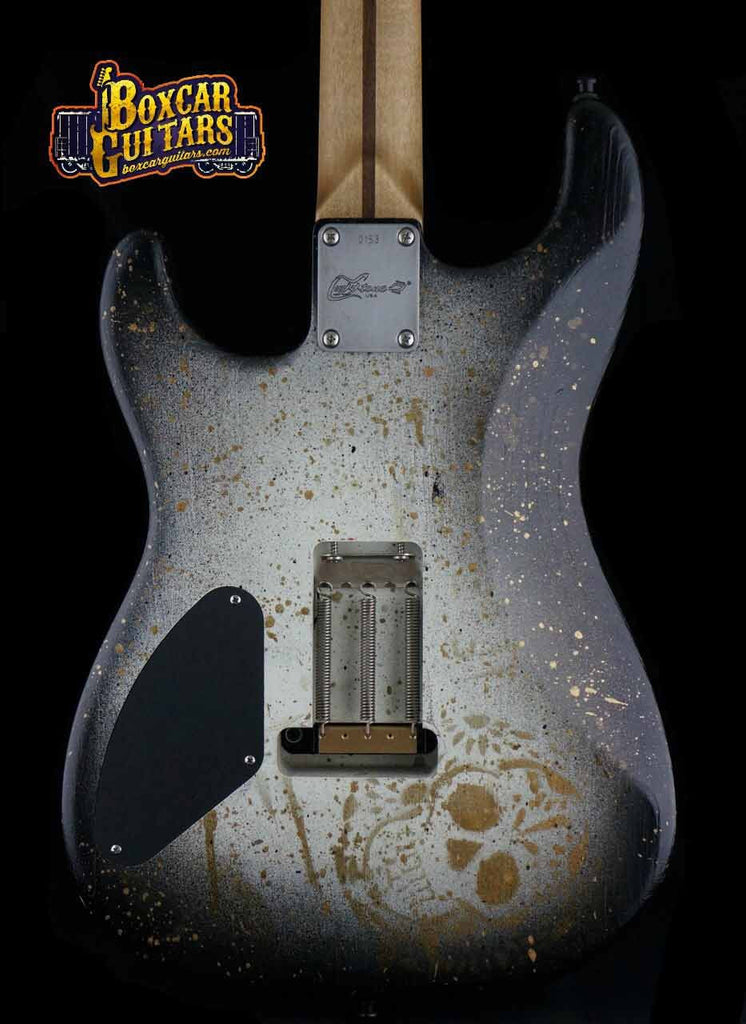 Luxxtone El Machete with Trisha Lurie Art 2 Boxcar Guitars