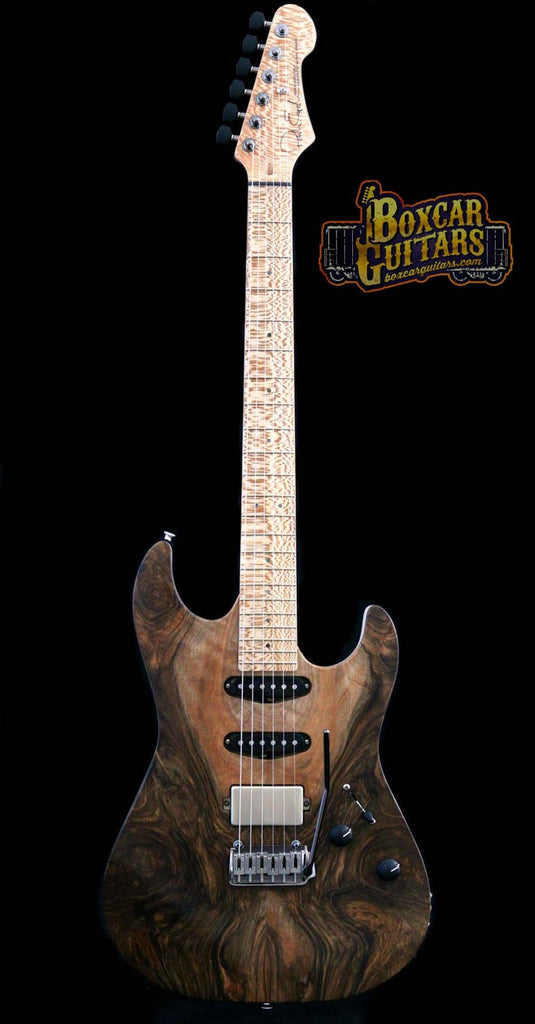 Patrick James Eggle '96 Drop Top English Walnut 4 Boxcar Guitars