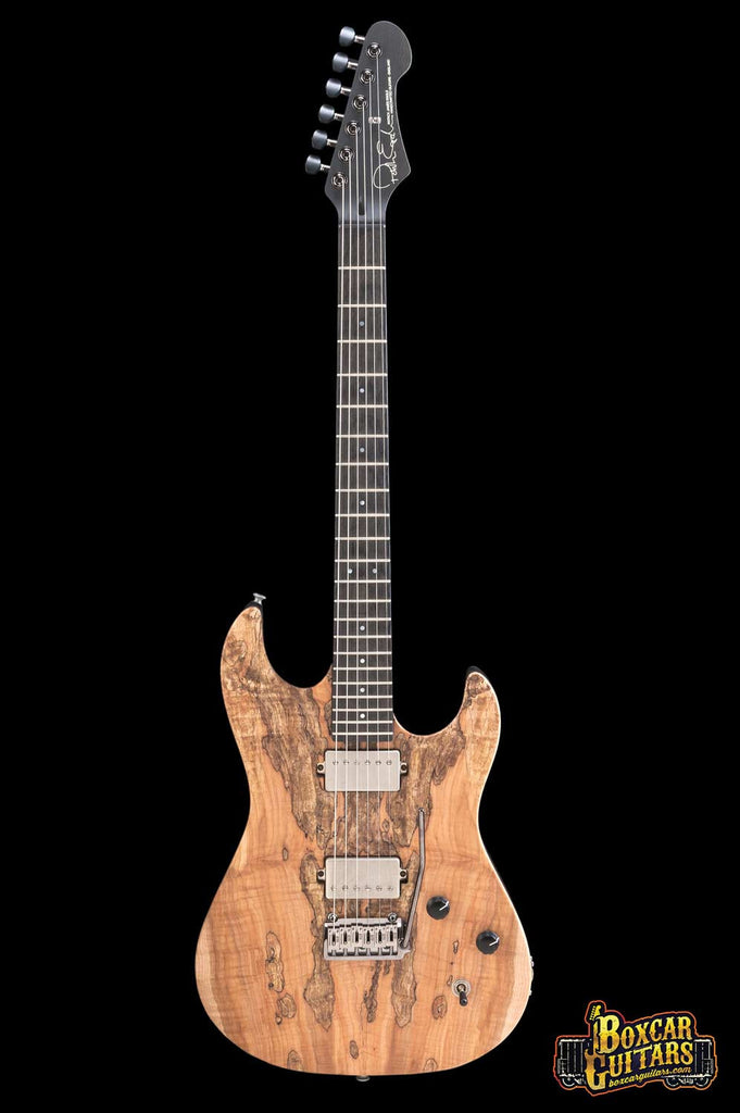 Patrick James Eggle '96 Drop Top Spalted Maple 3 Boxcar Guitars