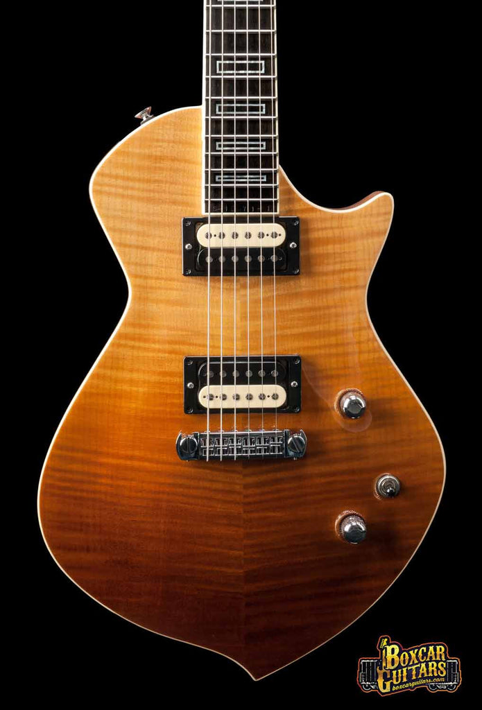 Sully '71 Trella Iced Tea Burst 1 Boxcar Guitars