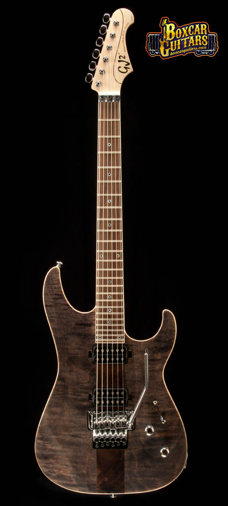 GJ2 Select Shredder HH Trans Grey 4A Flame Maple