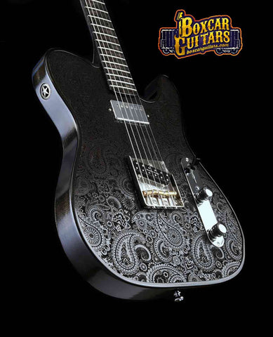 Walla Walla Black Bart Paisley T-Top 1 Boxcar Guitars