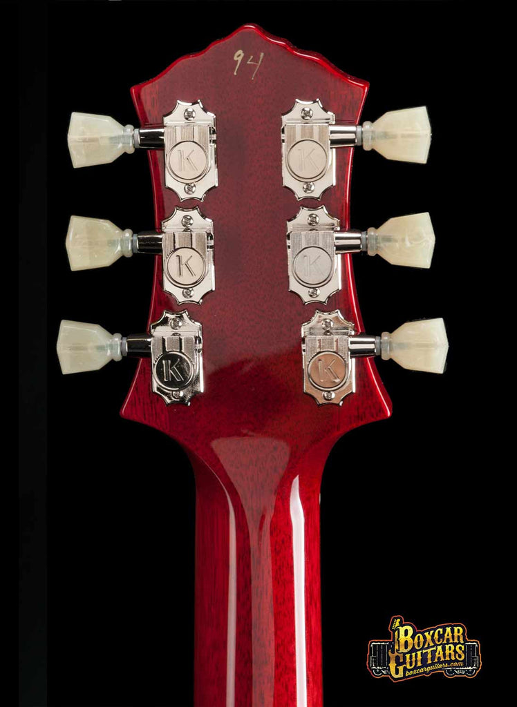 Knaggs SSC Indian Red 7 Boxcar Guitars