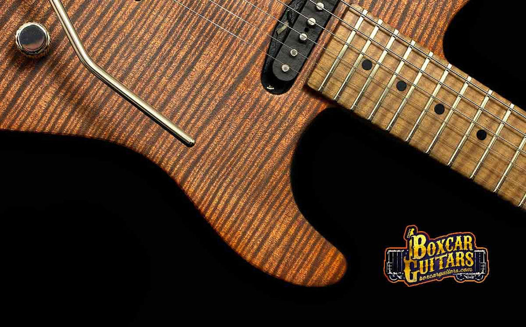 Luxxtone El Machete Tigers Eye Geode 3 Boxcar Guitars