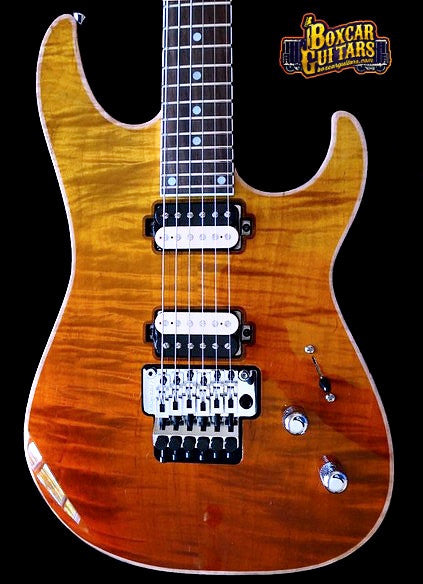 GJ2 Select Shredder HH Tequila Sunrise Flame Maple
