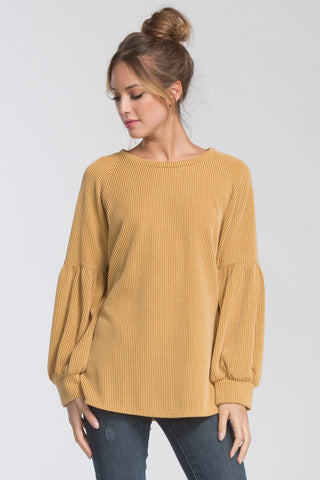 Aiyana Sweater in Mustard
