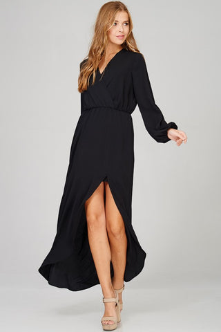Rebecca Slit Dress