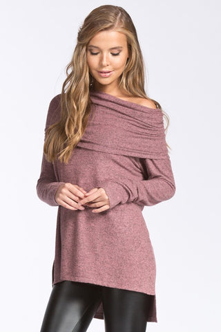 Daisy Top in Mauve