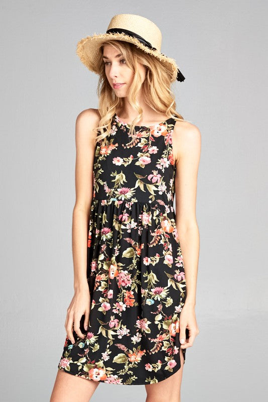 3395055620c90b Buy Jaden Floral Sleeveless Dress at ROUTE 32 for only   37.00