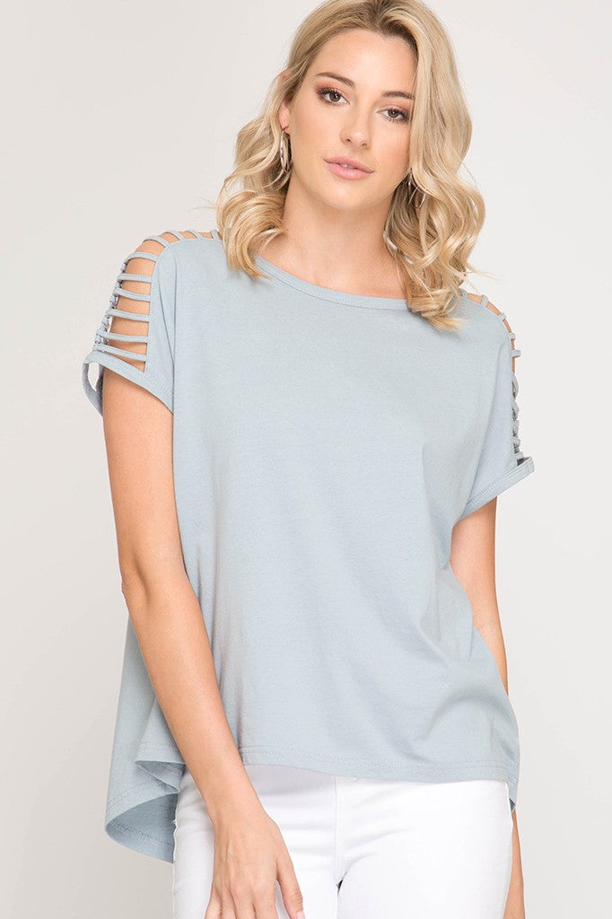 Maia Top in Mist