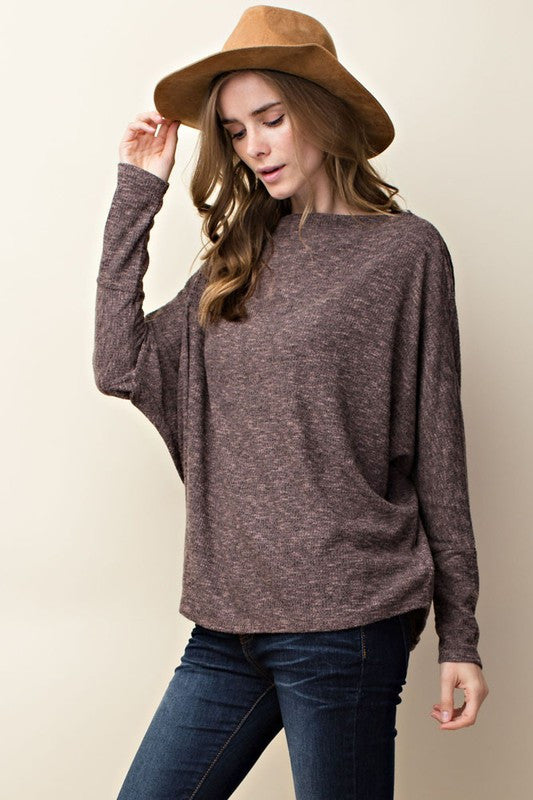 Norah Off-The-Shoulder Asymmetrical Top - ROUTE 32
