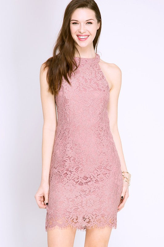 Misty Lace Dress - ROUTE 32
